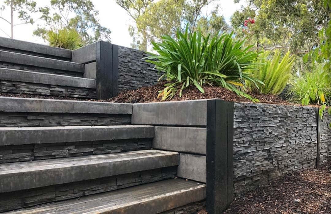 Retaining Wall Ideas By Outback Sleepers Australia